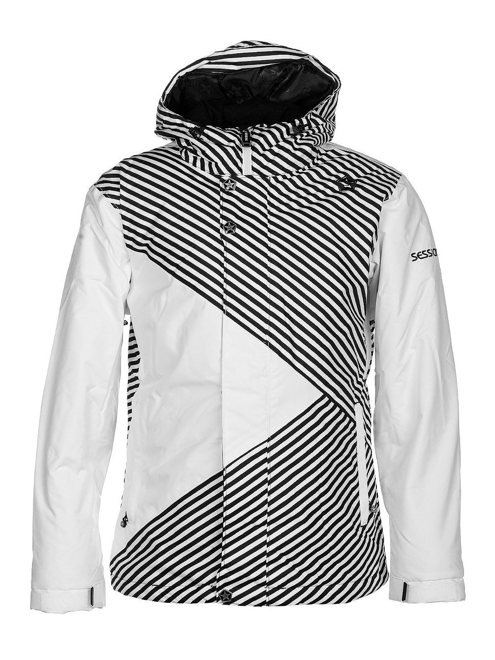 Crosscheck Mini Stripe Jacket Women