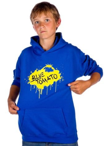 Blue Tomato Yellow Splash Hoody Youth