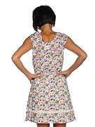 Up Country Floral Dress Women