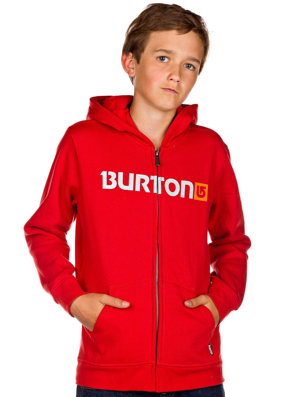 Logo Horizontal Full Zip Hood Youth