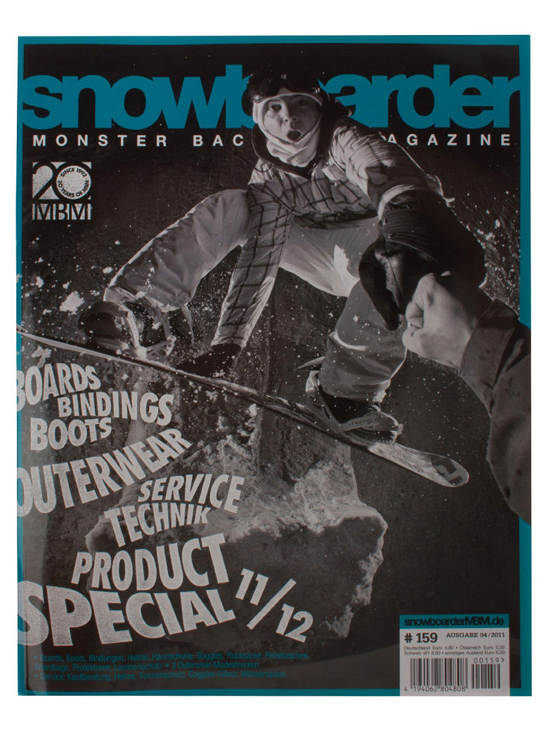 Snow Magazin MBM MBM#159 Monster Black vergr��ern