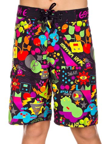 69 Slam Summer Black Boardshort Youth