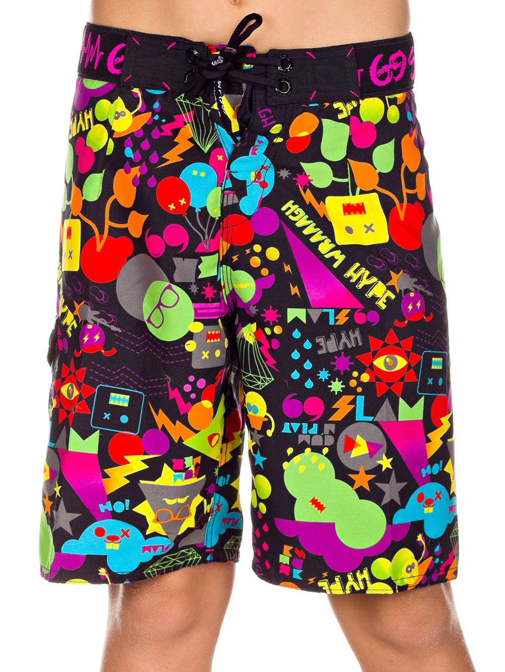 Summer Black Boardshort Youth