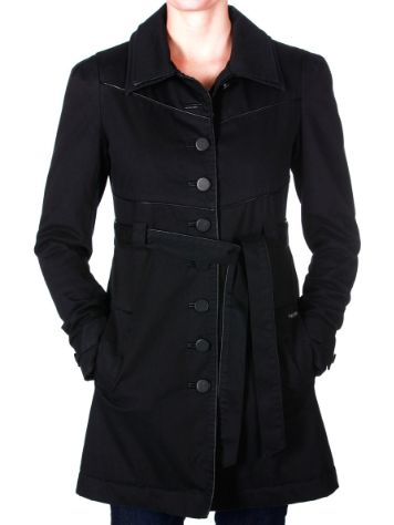 Volcom Green Room Trench Coat Women