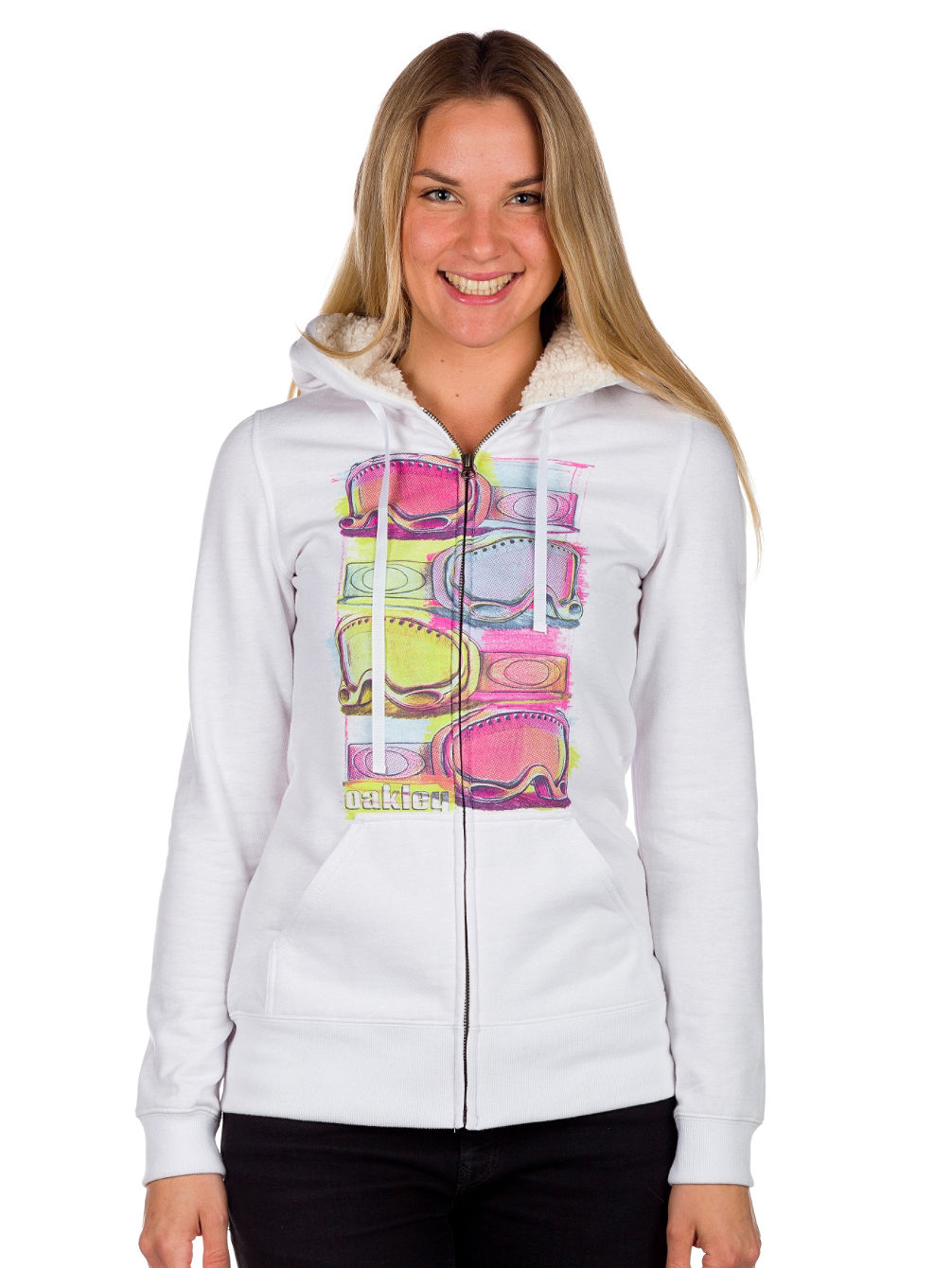 Icy Terrain Zip Hood Women