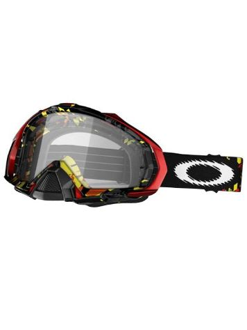 Oakley Mayhem Mx shattered yellow red