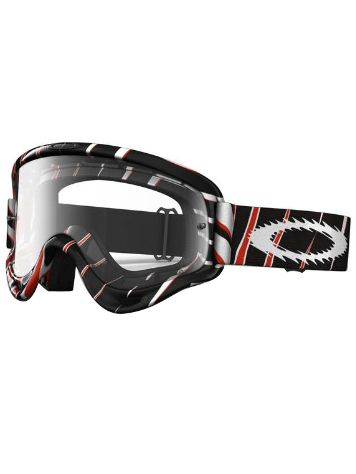 Oakley O Frame Mx razors edge red black white