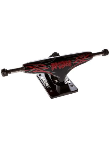 Bullet Pinstripe black/red 127mm Truck