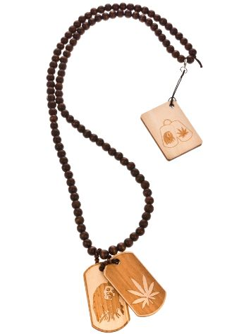 Wood Fellas Hemp Dog Tag Necklace