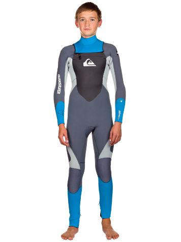 Quiksilver 4/3 Chest Zip L/SL Steamer Wetsuit Youth
