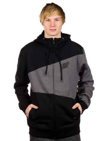 Light Double Zip Hoodie