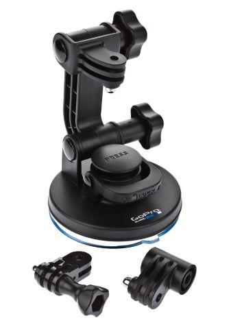 GoPro Cam Suction Cup Mount NEW