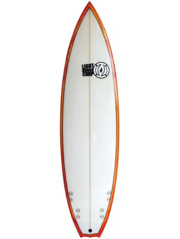 Light Quad Performance Shortboard 6.1