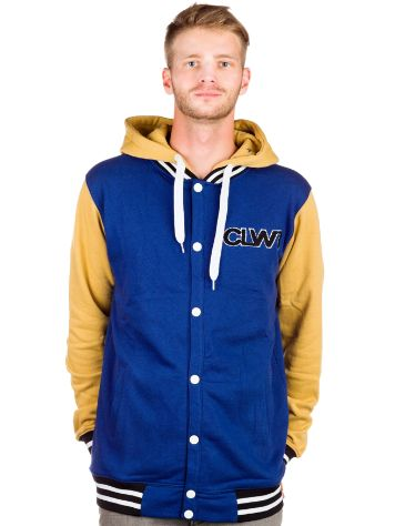 Colour Wear Varsity Zip Hoodie