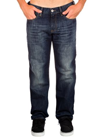 Quiksilver Norpac Medium Dark Scarped Jeans