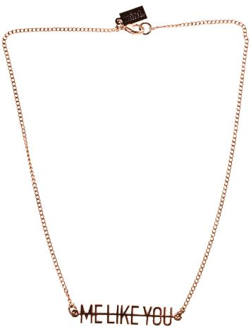 mint Me Like You Necklace