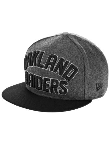 New Era Oakland Raiders Emphasized Snap Cap