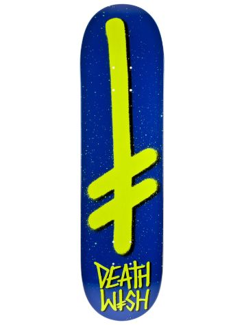 Deathwish Gang Logo Blue Yellow 8.0
