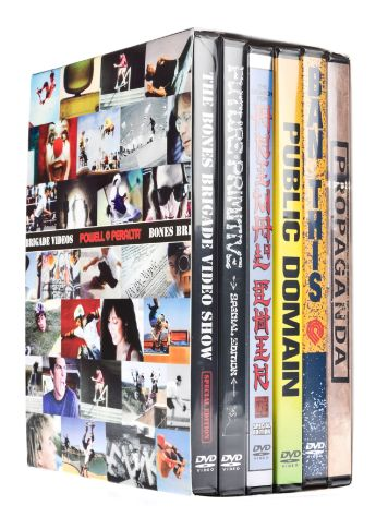 VISK Set of 6 Powell DVD