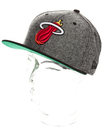New Era Miami Heat Retro Tweed Cap