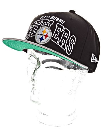 New Era Pittsburgh Steelers Wordmark Central Cap