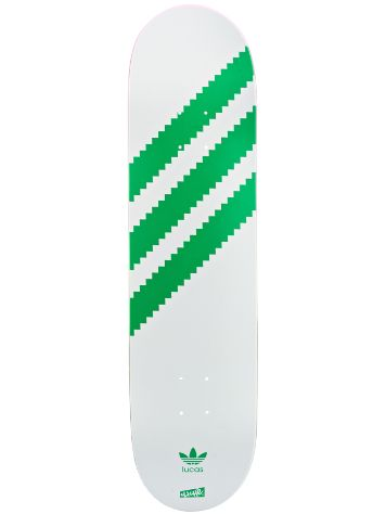 Cliche Puig Lucas Originals White/Green R7 8.0 Deck