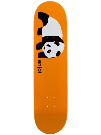 Enjoi Original Panda Orange R7 8.0 Deck