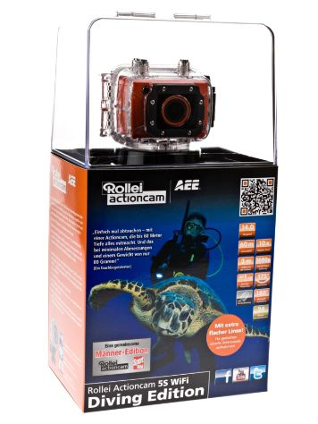 Rollei Actioncam 5S WiFi Diving Edition