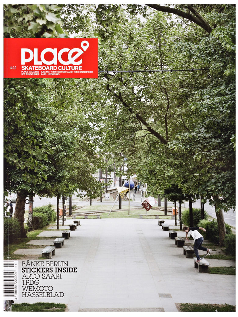 Surf Magazin PLACE PLACE Skatemag Nr.41 vergr��ern