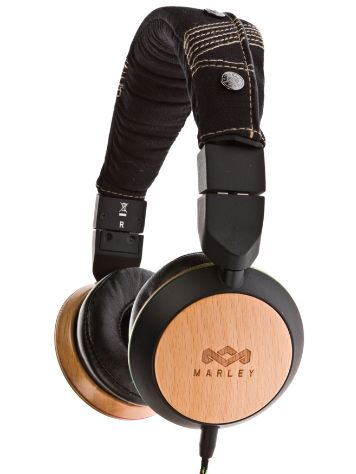 House of Marley Stir It Up Mic Headphones