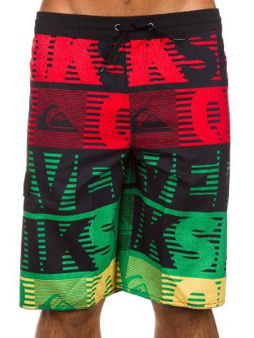 Quiksilver Comp Word Stripe VL 19 Boardshorts Boys