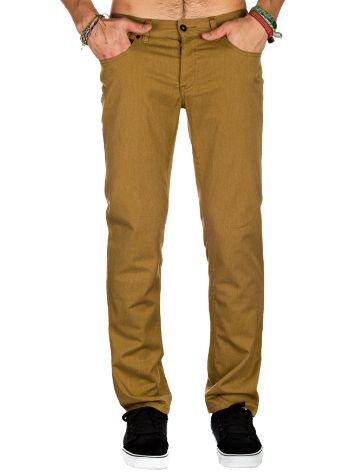 KR3W K Slim 5-Pocket Twill Jeans
