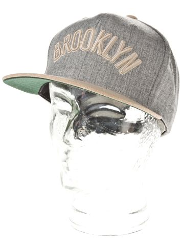 Mitchell & Ness Brooklyn Nets Heather Suede Cap