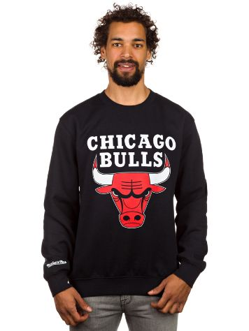 Mitchell & Ness Team Logo Chicago Bulls Crew Sweater