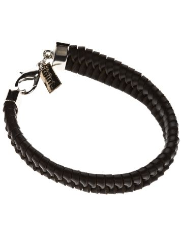 mint Switchback Leather Bracelet