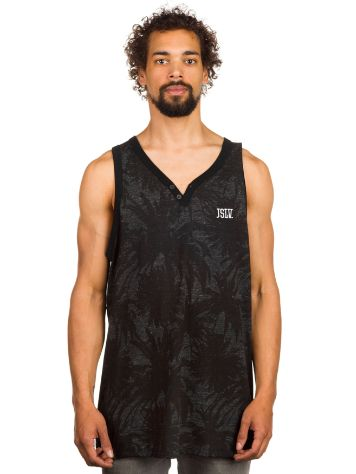 JSLV Palms Henley Tank Top