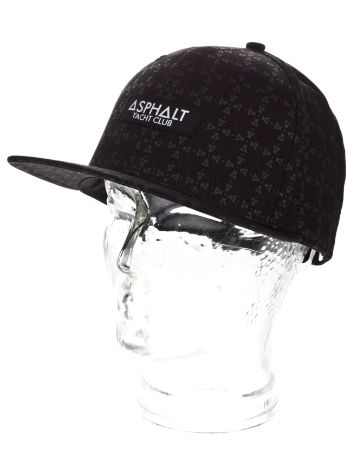 Asphalt Yacht Club Monogram Snap Back Cap