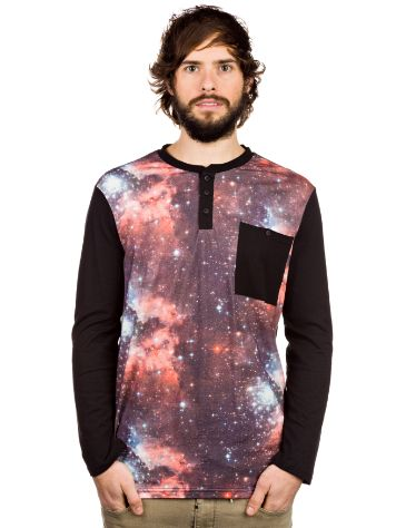 Altamont Nebula All Over Pocket Henley T-Shirt