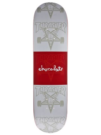 "Chocolate Chocolate x Trasher 8.0"" Deck"
