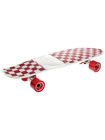 "Cliche Mighty White/Red Checker 7.0"" x 25"" Complete"