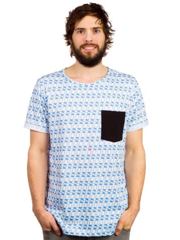 Blue Tomato All Over Flamingo T-Shirt