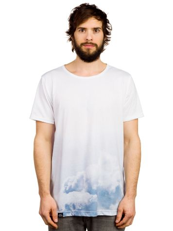 Blue Tomato Dip Dye Clouds T-Shirt