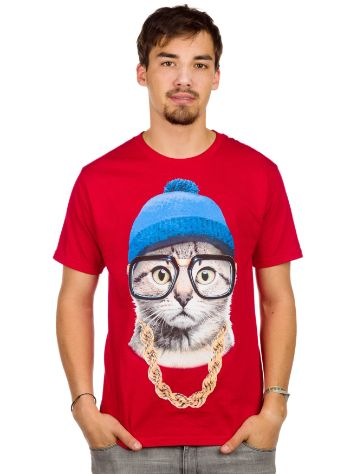 A.Lab Beanie Cat T-Shirt