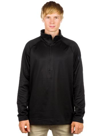 Burton Ak Grid Half Zip Tech Fleece Pullover