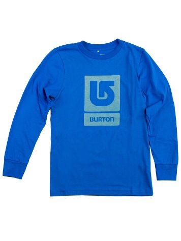 Burton Logo Vertical Fill T-Shirt LS Boys