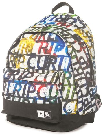 Rip Curl Double Dome Lettering Backpack