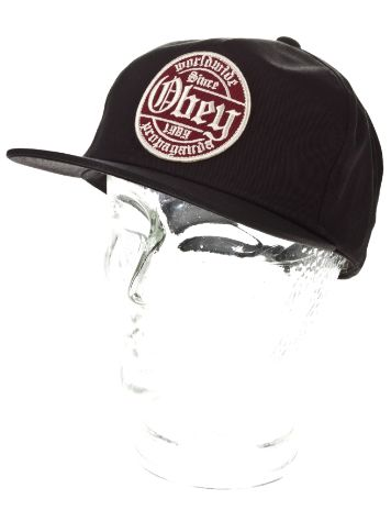 Obey Whiskey Snapback Cap