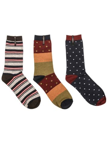 Billabong Boardroom 3er Pack Socks