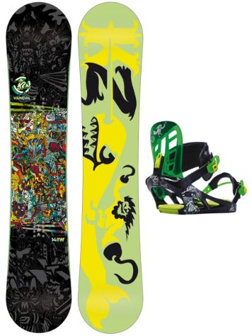 K2 Vandal 148W + Vandal Black M 2015 Youth