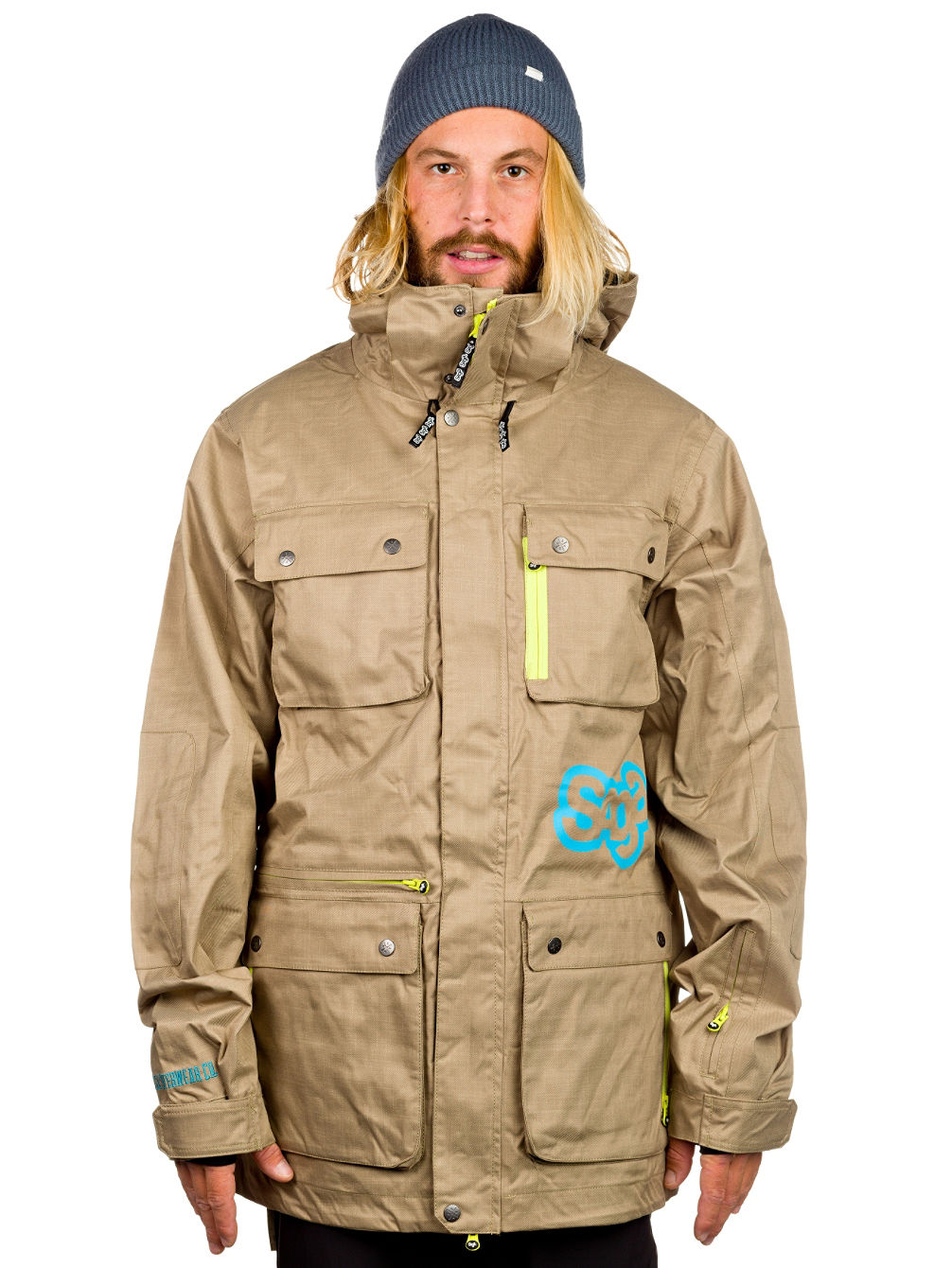 Buy Saga Outerwear Anomie Jacket online at blue-tomato.com
